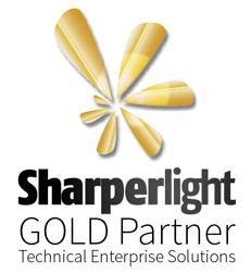 sharperlight-gold-partner-logo